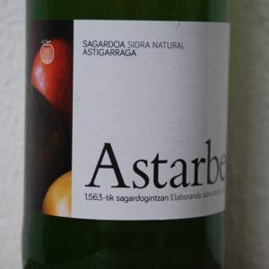 Sidra (cider) uit Baskenland van Astarbe