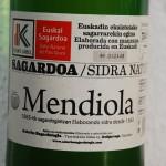 Baskische sidra (cider)