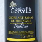 Cidre du Gorvello