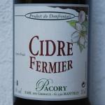 Cidre Fermier - Pacory