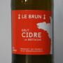 Cidre Le Brun