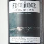 cider Free Rider 2019 - des bouteilles à l'amère